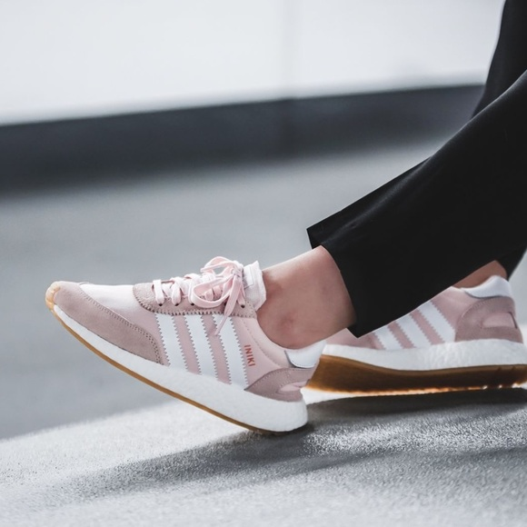 aef88a3f320b5a adidas Shoes - Adidas Pink Iniki Runner Sneakers